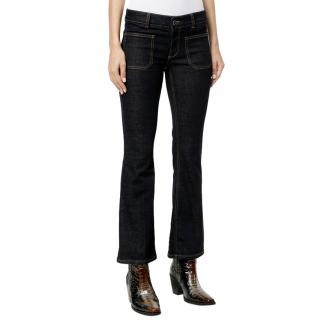 Stella McCartney Blue Skinny Bootcut Jeans