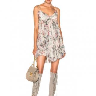Zimmermann Jasper Ruffle Floral Mini Dress
