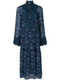See By Chlo� Floral Print Ruffle Maxi Dress