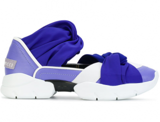 Emilio Pucci Gradient Twisted Sneakers