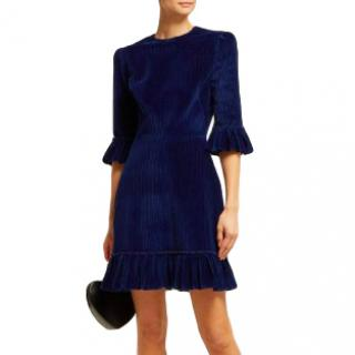 The Vampire's Wife Blue Velvet Festival Dress