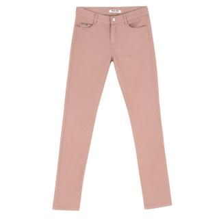 Max & Moi Light Pink Skinny Jeans