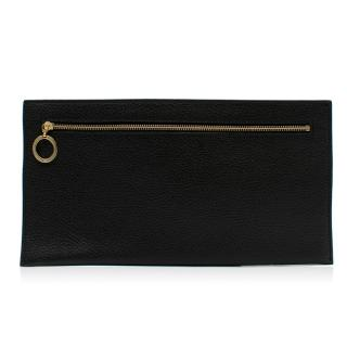 Amanda Wakeley Black Leather Pouch