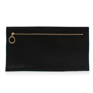 Amanda Wakeley Black Leather Pouch