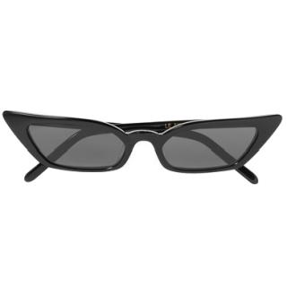 Poppy Lissiman Le Skinny black cat-eye sunglasses
