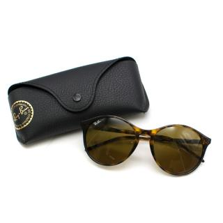 Ray Ban RB4371 Brown Tortoiseshell Sunglasses