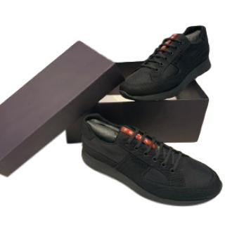 Prada Black Nylon Technical Sneakers