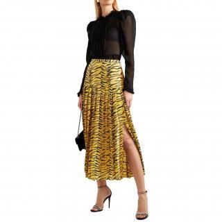 Rixo Tiger Print Tina Skirt