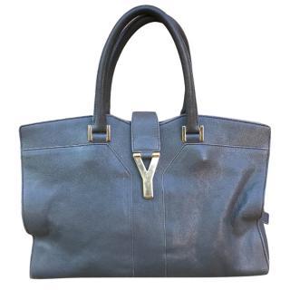 Saint Laurent Smokey Grey Cabas Chyc handbag