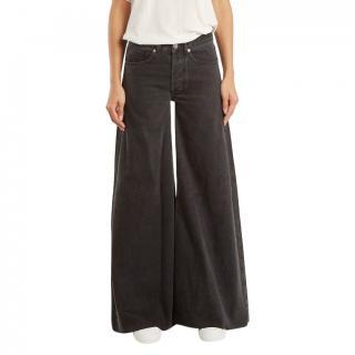 Raey Vintage Black Loon Jeans