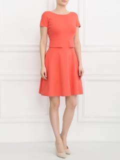 Armani Collezioni Red A-Line Dress