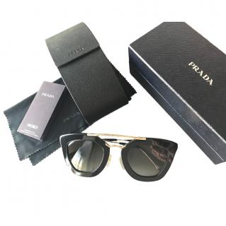 Prada SPR 090 Aviator Sunglasses