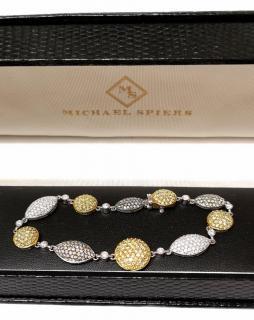 Michael Spiers Pave Set Diamond Bracelet