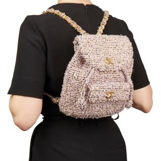 Chanel Vintage Tweed backpack