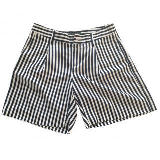 Lauren Ralph Lauren Navy Striped Shorts