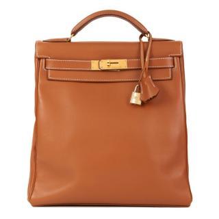 Hermes Vintage Swift Leather Kelly Ado Backpack