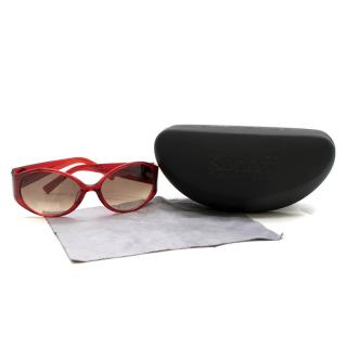 Korloff Paris K024 Red Sunglasses
