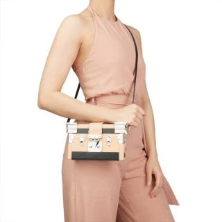 Louis Vuitton Two-Tone Smooth Leather Temple Petite Malle