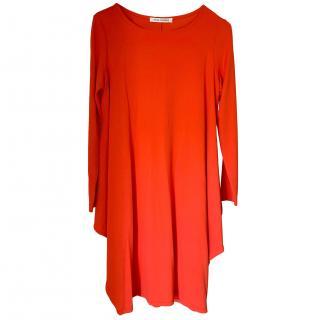 Louise Kennedy Red Waterfall Dress