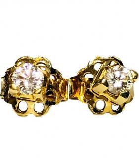 Bespoke Diamond Stud Earrings