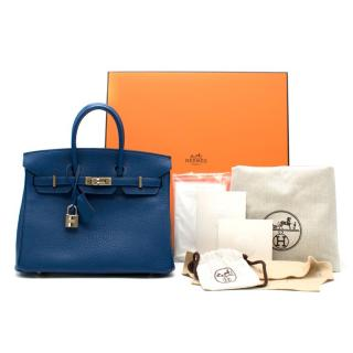 a53f50f546be Hermes Thalassa Togo Leather 25cm Birkin Bag - Special Order