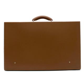 Bentley Brown Leather Suitcase
