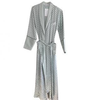 Olivia Von Halle silk dress dressing gown