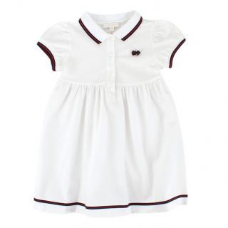 Gucci Girls' White Cotton Dress