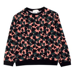 Gucci Kids 6-Years Camouflage Print Crewneck Sweatshirt