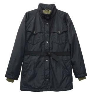 Fay Blue Quilted Jacket