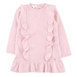 Gucci Girls' Pale Pink Cashmere Dress