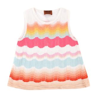 Missoni Girls' Multi-coloured Striped Top