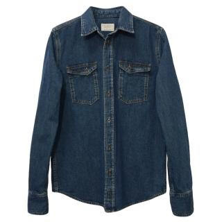 Nudie Men's Denim Shirt