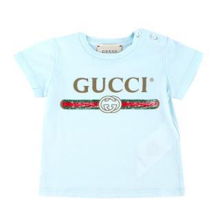 Gucci Baby 3-6 Months Logo T-shirt
