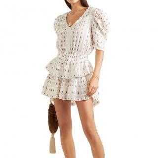 LoveShackFancy Printed Marissa Dress
