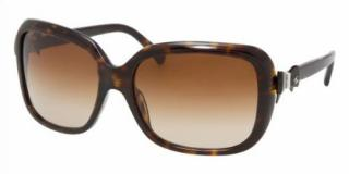Chanel Bow-Embellished Tortoiseshell CC Sunglasses