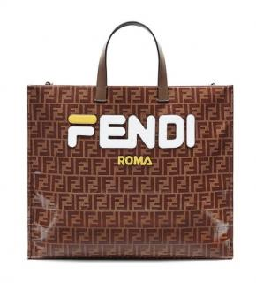 Fendi x Fila Limited Edition Logomania Tote