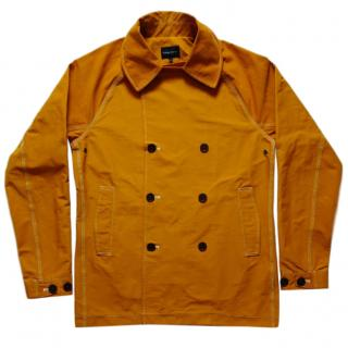 Wings + Horns Lightweight men's orange sailing jacket