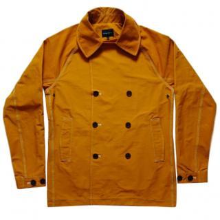 Wings + Horns Lightweight men's orange sailing jacket