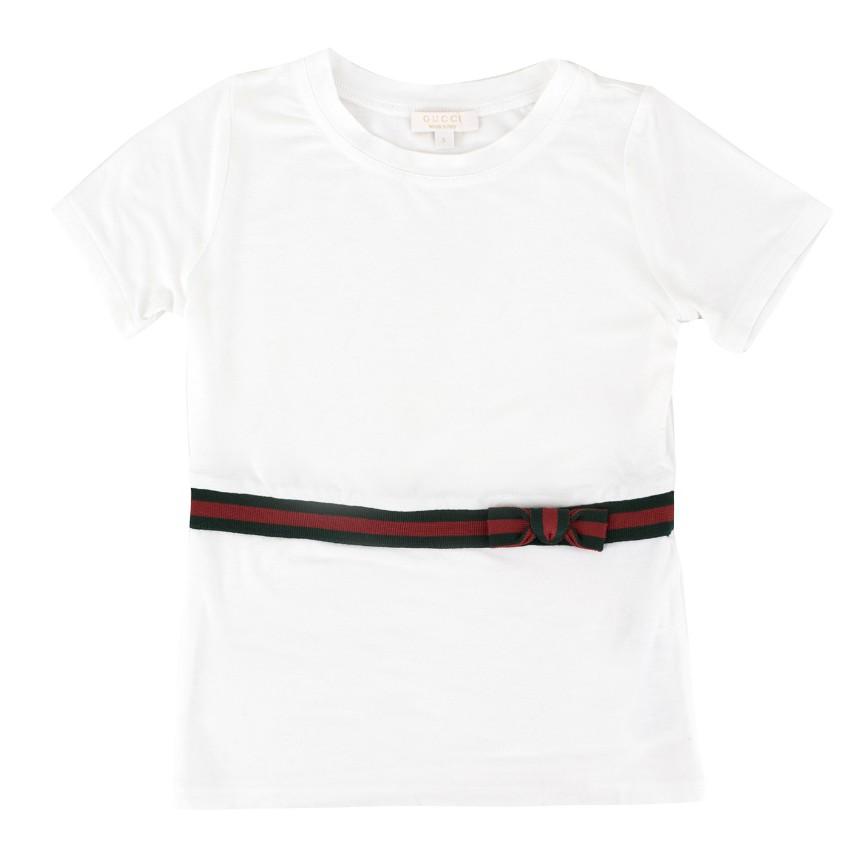 NG (Alessa M) Gucci Girls' White T-shirt