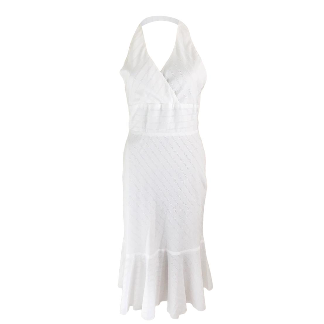 Issa White Halterneck Sun Dress