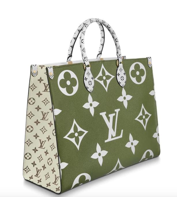 b71a9e8a291 Louis Vuitton Giant Monogram On The Go Tote Bag