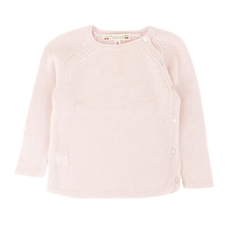 Bonpoint Babies 6M Light Pink Cashmere Sweater