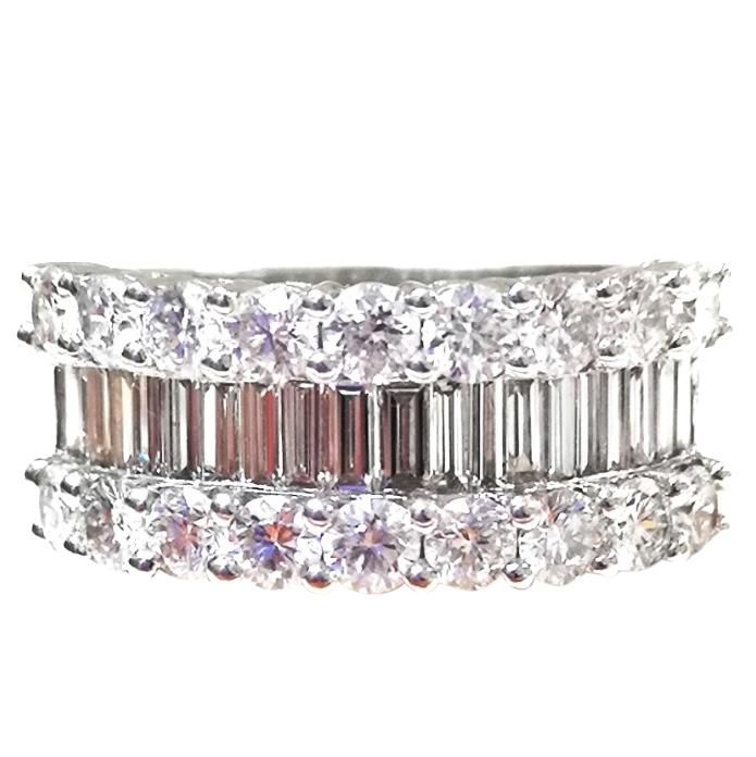 Bespoke Diamond Cluster Ring