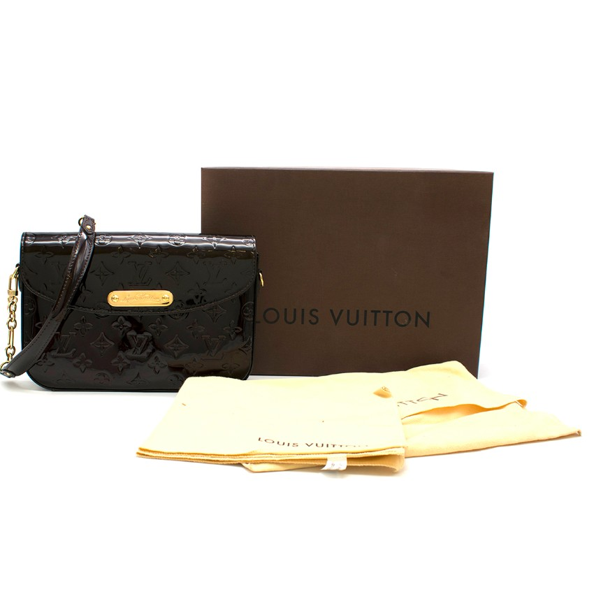 Louis Vuitton Patent Vernis Monogram Shoulder Bag