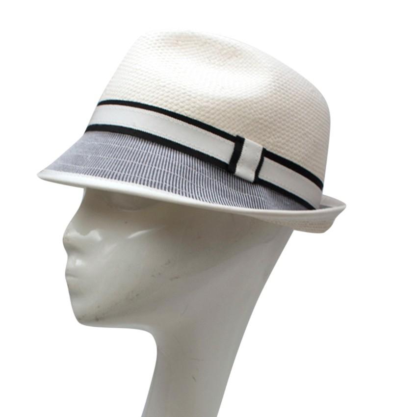 Bernstock Speirs White Trilby Hat
