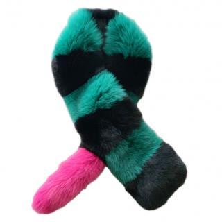 Charlotte Simone faux fur stole/scarf