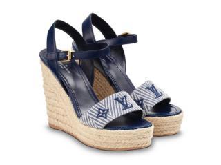 Louis Vuitton Sail Away Wedge Sandals