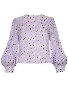 Rixo Imogen Daisy Dream lilac cotton top - Current season