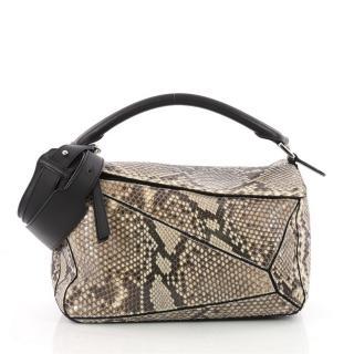 Loewe Python Medium Puzzle Bag